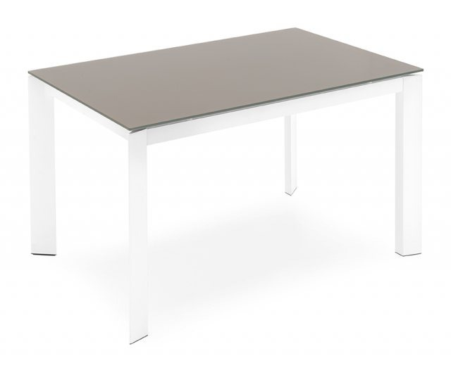 Connubia calligaris baron glass extendable table for Calligaris baron