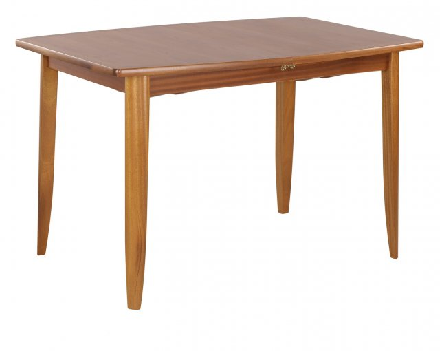 Nathan 2154 Teak Small Boat Shaped Dining Table on Legs