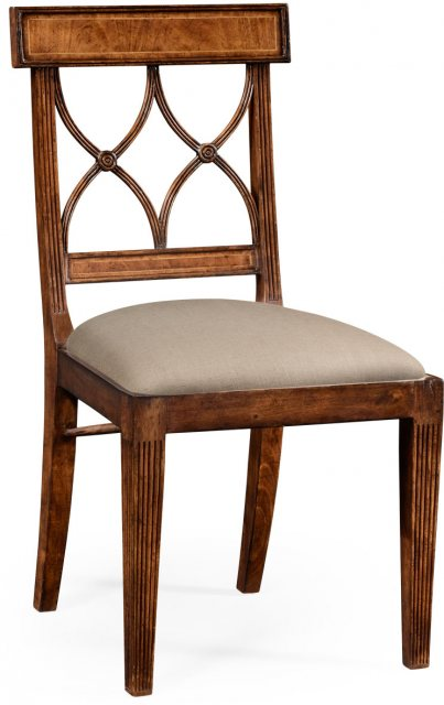 Jonathan Charles Furniture Jonathan Charles Regency Crotch Walnut