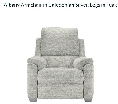 Parker Knoll Albany Power Recliner Armchair Brentham Furniture