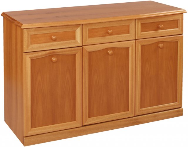 Sutcliffe Trafalgar 850B Sideboard 3 Door 3 Drawer Canted Top