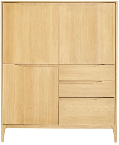 Ercol-2653 Romana Highboard