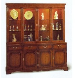 Bradley 894 4 Door Display Cabinet