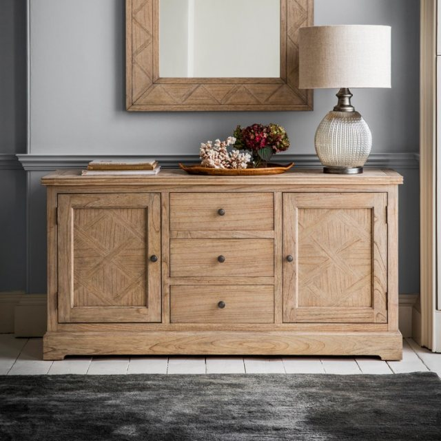 Gallery Direct & Frank Hudson Frank Hudson Mustique 2 Door, 3 Drawer Sideboard
