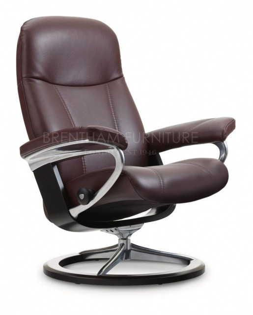 Stresslesss Consul Medium Chair Signature Base