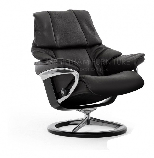Stresslesss Reno Medium Chair With Signature Base