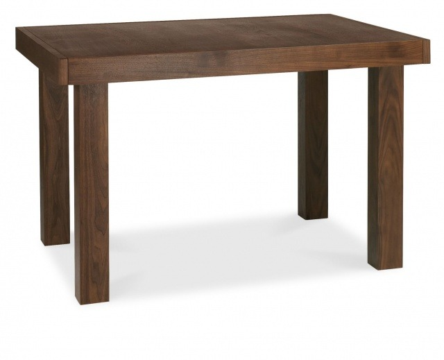 Akita Walnut 4-6 End Extending Dining Table