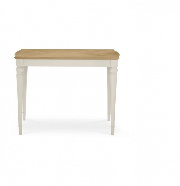 Bentley Designs Montreux Pale Oak & Antique White Bar Table