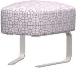 Fama Fama Kylian Footstool With Rocking Base