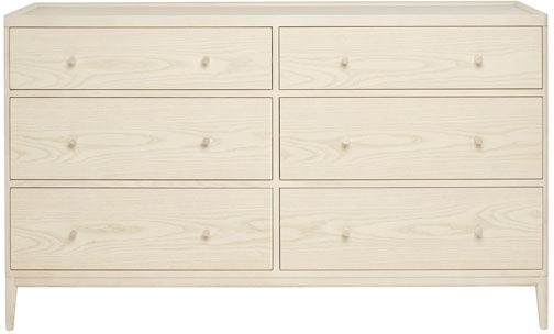 Ercol Ercol 3895 Salina 6 Drawer Wide Chest