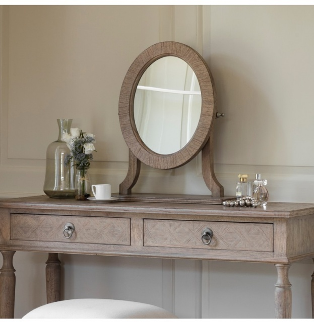 Gallery Direct & Frank Hudson Frank Hudson Mustique Dressing Table Mirror