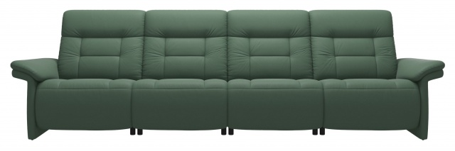 Stressless Stressless Mary 4 Seater Sofa With 2 Power Seats - Upholstered