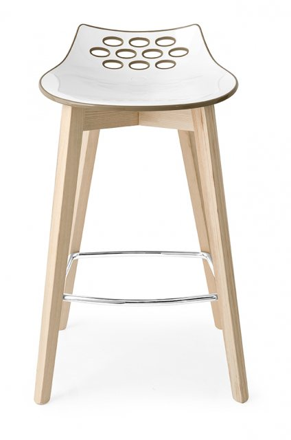 Connubia Calligaris Jam Wood Bar Stool