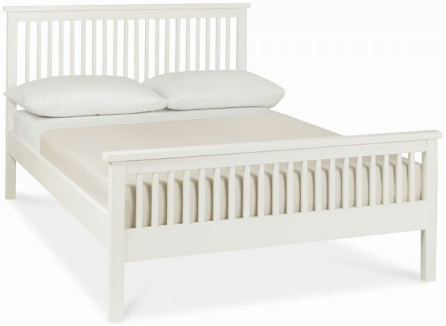 Bentley Designs Atlanta White Bedstead - High foot End?