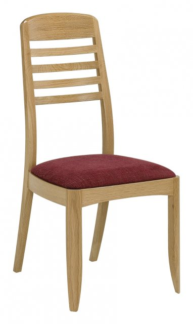 Nathan 3815 Shades Oak Ladder Back Dining Chair