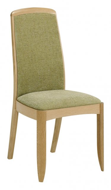 Nathan 3805 Shades Oak Fully Upholstered Dining Chair