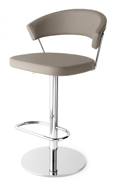 Connubia Calligaris New York Bar Stool Swivel Base Skuba