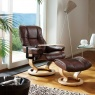 Stressless Stressless Mayfair Large Chair and Stool with Classic Base