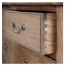 Gallery Direct & Frank Hudson Frank Hudson Chic 5 Drawer Chest Weathered