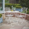 Gallery Direct & Frank Hudson Gallery Burano Outdoor Bistro Set Gatehouse